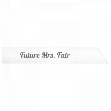 Future Mrs. Fair