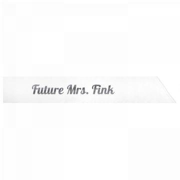 Future Mrs. Fink