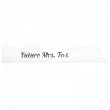 Future Mrs. Fox