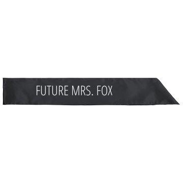 Future Mrs. Fox Bachelorette Gift
