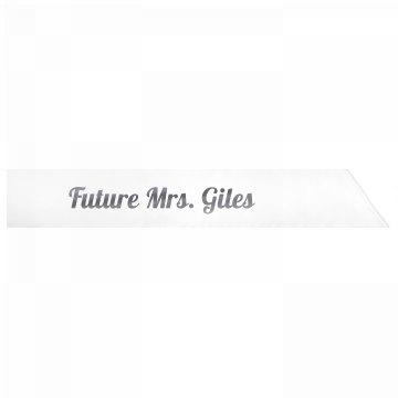 Future Mrs. Giles