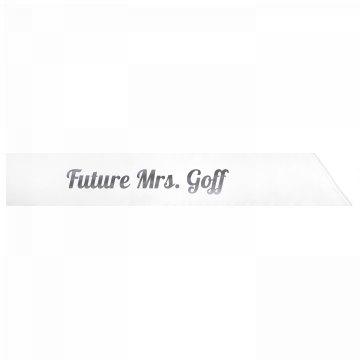 Future Mrs. Goff