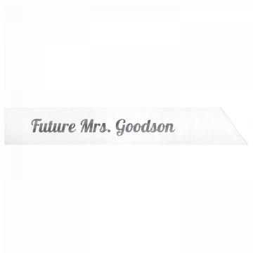 Future Mrs. Goodson