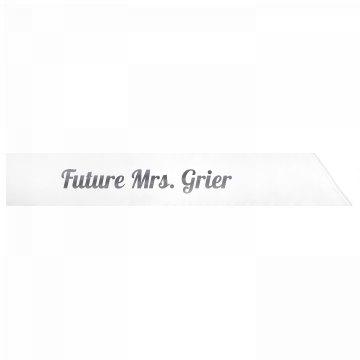 Future Mrs. Grier