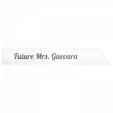Future Mrs. Guevara