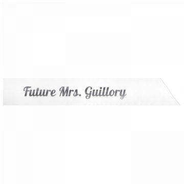 Future Mrs. Guillory
