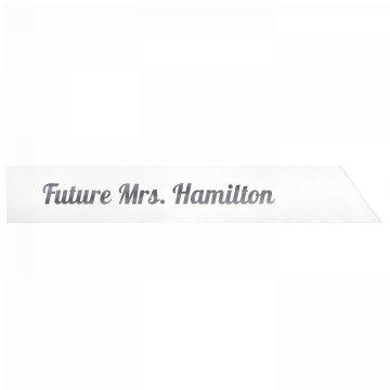 Future Mrs. Hamilton