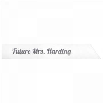 Future Mrs. Harding
