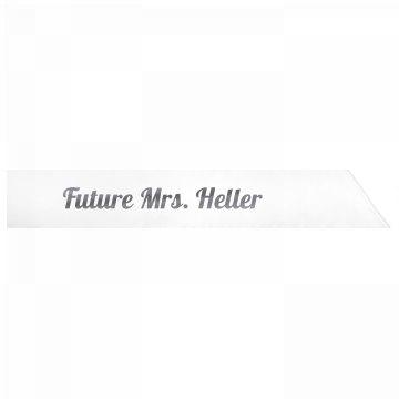 Future Mrs. Heller