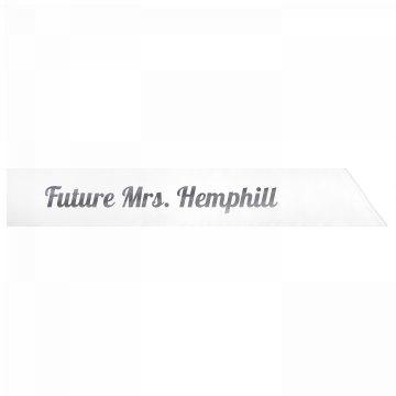 Future Mrs. Hemphill