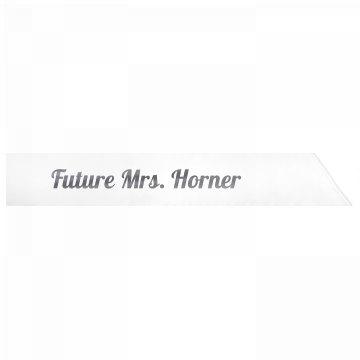 Future Mrs. Horner