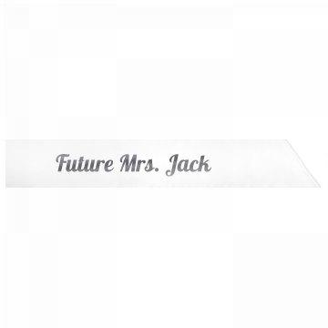 Future Mrs. Jack