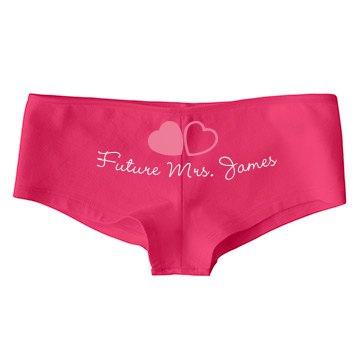 Future Mrs. James Undies