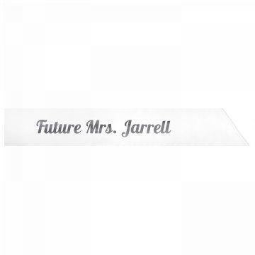 Future Mrs. Jarrell