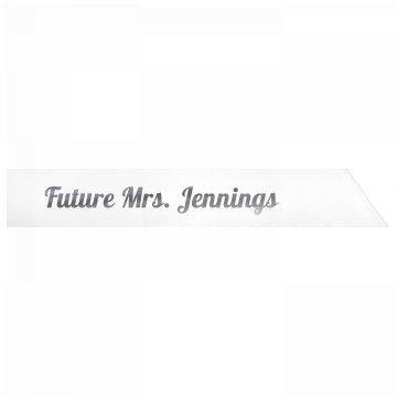Future Mrs. Jennings
