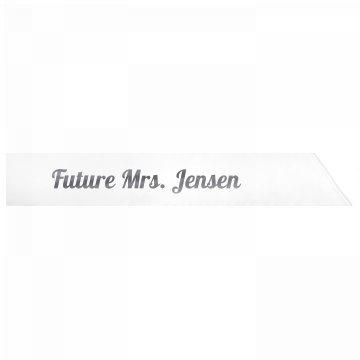 Future Mrs. Jensen