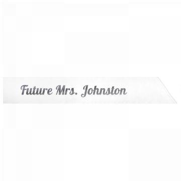 Future Mrs. Johnston