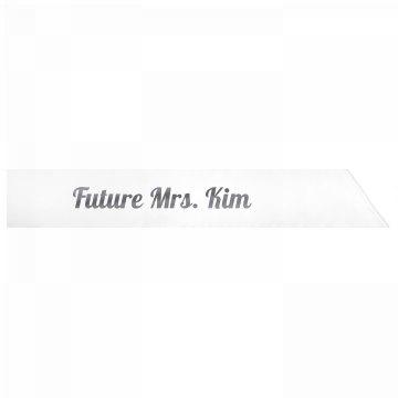 Future Mrs. Kim