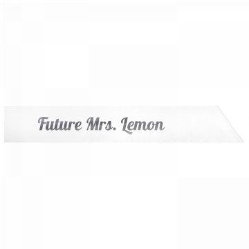 Future Mrs. Lemon