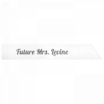 Future Mrs. Levine