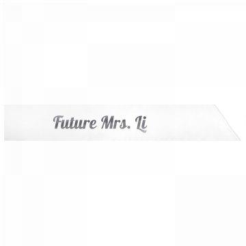 Future Mrs. Li