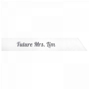 Future Mrs. Lim