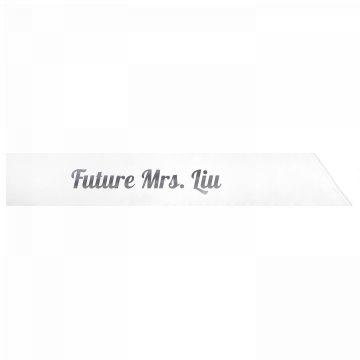Future Mrs. Liu