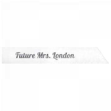 Future Mrs. London