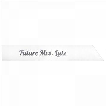 Future Mrs. Lutz