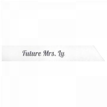 Future Mrs. Ly