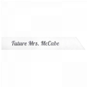 Future Mrs. McCabe
