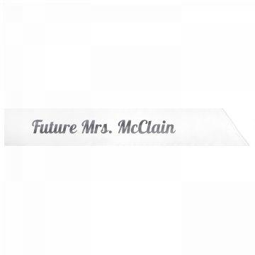 Future Mrs. McClain