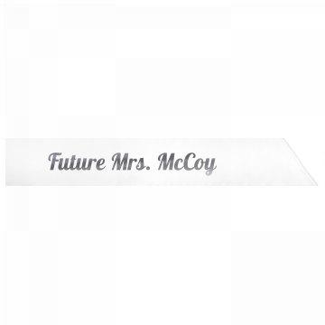 Future Mrs. McCoy