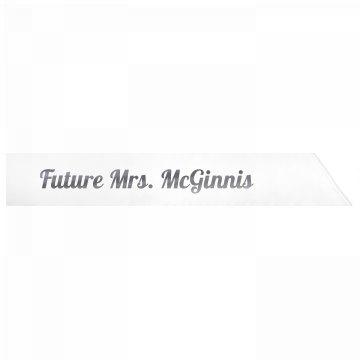 Future Mrs. McGinnis