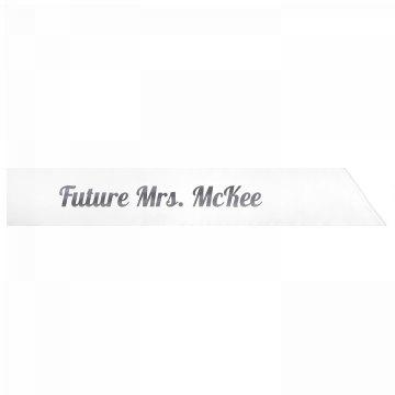 Future Mrs. McKee