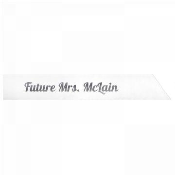 Future Mrs. McLain