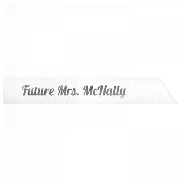 Future Mrs. McNally