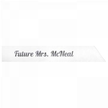 Future Mrs. McNeal
