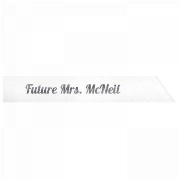 Future Mrs. McNeil