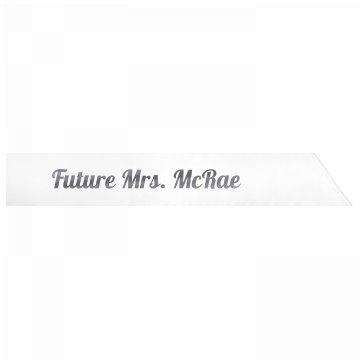 Future Mrs. McRae