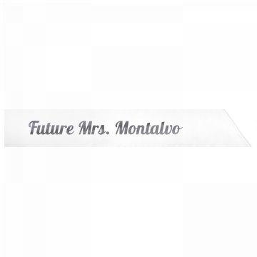 Future Mrs. Montalvo