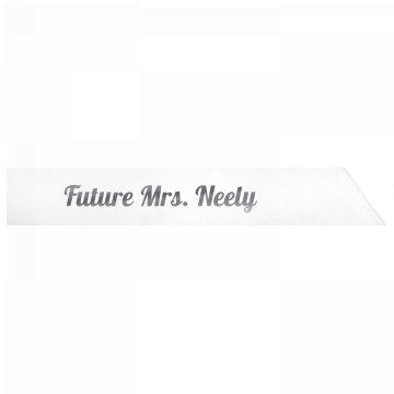 Future Mrs. Neely