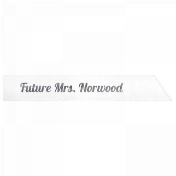 Future Mrs. Norwood