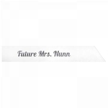Future Mrs. Nunn
