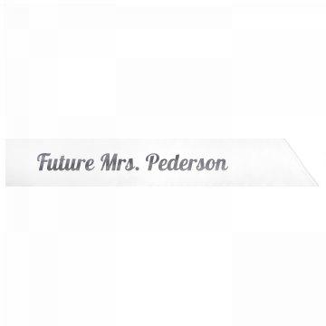 Future Mrs. Pederson