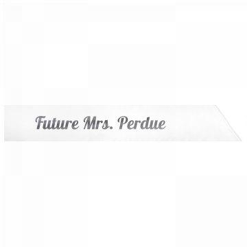 Future Mrs. Perdue