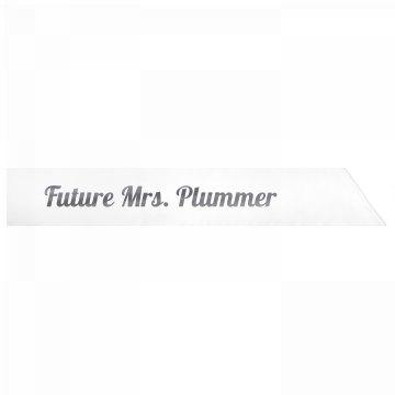 Future Mrs. Plummer