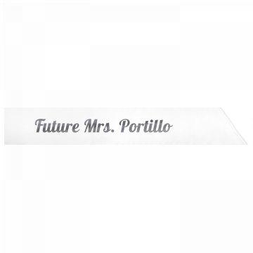 Future Mrs. Portillo