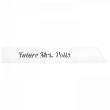 Future Mrs. Potts