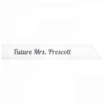 Future Mrs. Prescott
